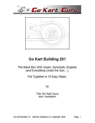 Go Kart Building 201
