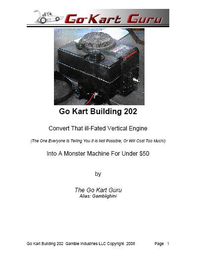 Go Kart Building 202