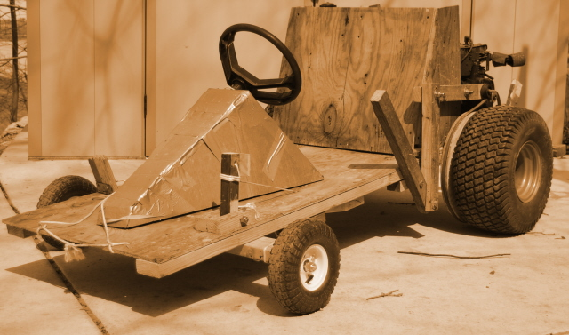 Wood Go Kart: Great Winter Project