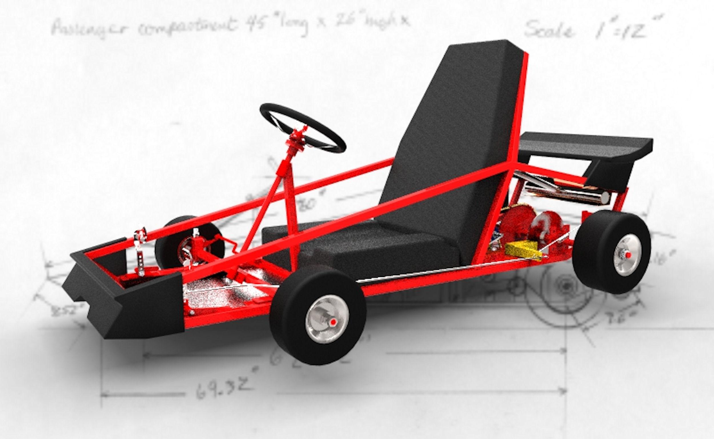 Go Kart Guru - Go Kart Plans