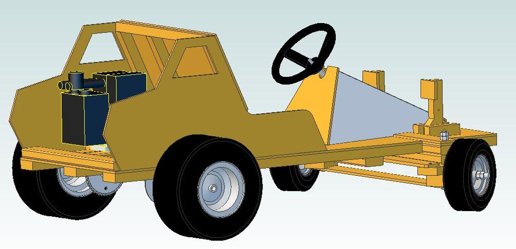 Go Kart Guru - Premium Wood Go Kart Phi-Alpha-14