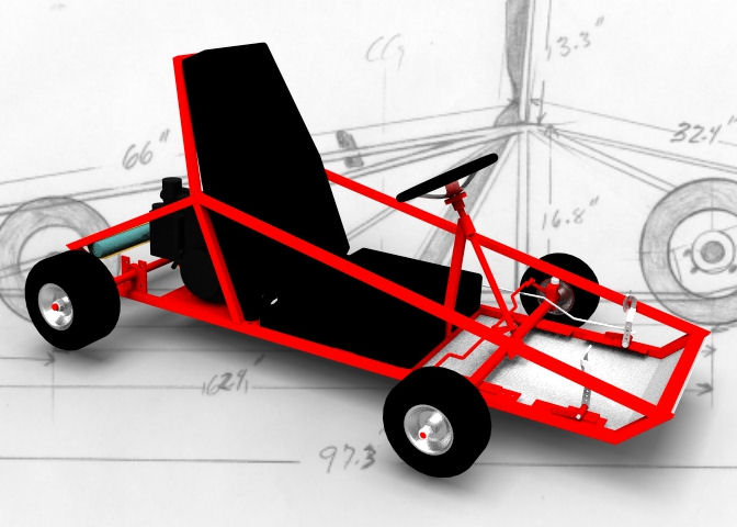 how to build a go kart frame pdf