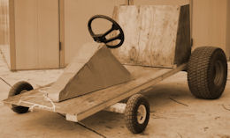 how to build a simple wooden go kart